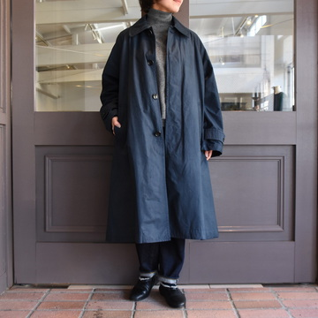 TOUJOURS(トゥジュー) Oversized Flared Soutien Collar Coat #TM33GC02