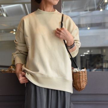 YLÉVE(イレーヴ) SUVIN COTTON FLEECE P/O #168-0266038