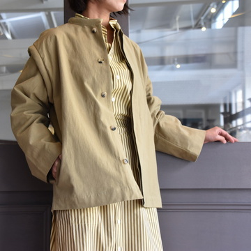 CristaSeya(クリスタセヤ)/ JAPANESE COTTON & LINEN PADDED JACKET #14SA-CL