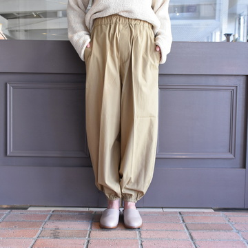 CristaSeya(クリスタセヤ)/ LIGHT COTTON BALLOON PANTS #17SA-LC