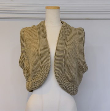 CristaSeya(クリスタセヤ) COTTON KNIT GILET #26SA-CO