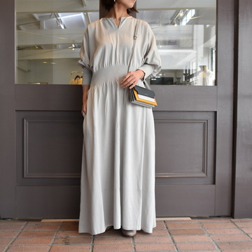 TENNE HANDCRAFTED MODERN(テン ハンドクラフテッドモダン) WAIST RIB KNIT ONE-PIECE #0017