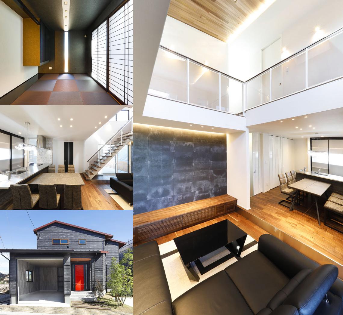 白木建設|アイリスガーデン吉野 スカイガレージハウス 写真集